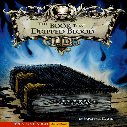 The Book That Dripped Blood audiobook cover art