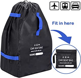 Car Seat Travel Bag Baby Seat Bag for Air Travel Durable Airport Gate Check Bag Cover Carry Travel Bag for Airplane Car Seats Booster Seats