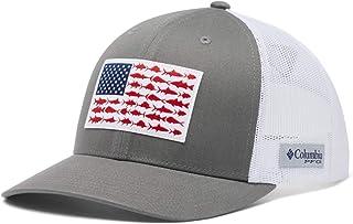 Columbia Unisex-Adult PFG Snap Back Fish Flag Ballcap