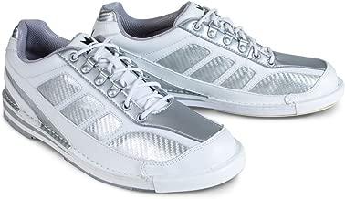 Brunswick Mens Phantom White/Silver Carbon Fiber