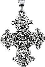 Sterling Silver Dagmar Cross Pendant