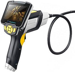 """Caméra d'inspection endoscope portable avec écran LCD 4,3"""" - Sonde flexible étanche - Pour inspection des conduites de véh..."""