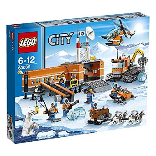LEGO City - 60036 - Jeu De Construction - Le Camp De Base Arctique