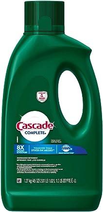 Cascade Complete Gel Dishwasher Detergent, Fresh Scent, 45 Ounces