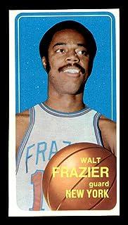 #120 Walt Frazier HOF - 1970 Topps Basketball Cards (Star) Graded EXMT+ - Unsigned Basketball Cards