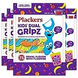 Plackers Kids Dental Floss Picks, 75 Count (Pack of 4),...