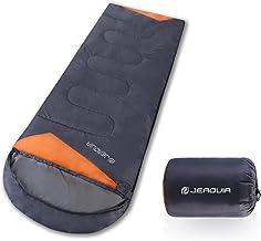 JEAOUIA Camping Sleeping Bag Lightweight Waterproof - 3 Season Outdoor & Indoor Sleeping Bags for Adults & Kids - Compact ...
