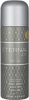 Eternal Love Body Spray For Men, Musk, 200 ml
