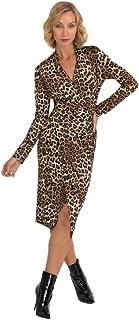 Joseph Ribkoff Beige & Black Leopard Print Dress Style - 193551 Fall 2019 Hot Styles