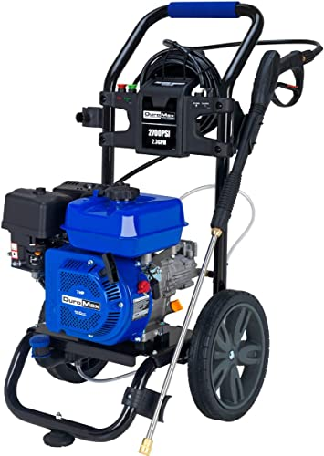 lowest Duromax online sale XP2700PWS sale 2.3 GPM 5 HP Gas Engine Pressure Washer, 2700 PSI outlet online sale