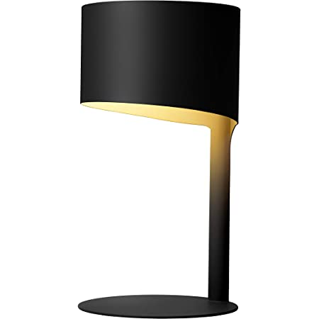 Lucide 45504/01/30 Lampe de Table, Métal, 40 W, Noir
