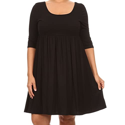 Plus Size Babydoll Dress: Amazon.com