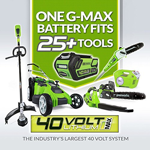 Greenworks 40V 150 MPH Variable Speed Leaf Cordless Blower, Battery and Charger Not Included 24282