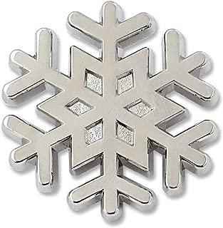 snowflake lapel pin