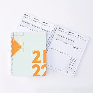 """Class Tracker Academic Planner for Students 2021-2022 College Edition (7"""" x 8."""