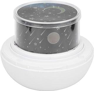 LFLF (Blanc LED Lampe De Projection De Nuit Tournante De La Nuit Starlier Starllier Starlier Cadeaux De Décoration