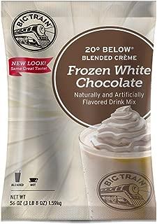 Big Train 20 Below Blended Creme Mix, Frozen White Chocolate, 3.5 Pound