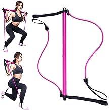 Anlye Pilates Bar | Adjustable Resistance Bands Stick...