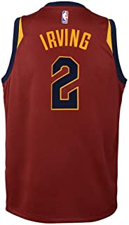 Nike Kyrie Irving Cleveland Cavaliers NBA Youth Burgundy Red Dri-Fit Swingman Jersey