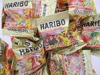 Haribo Gummi Candy, Gold Bears 80g X 3, Halal, Jelly Candy