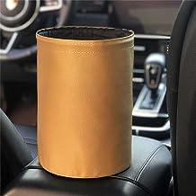 Bin samochodowy, wielofunkcyjny składany wiadro, wodoodporna torba na śmieci do przechowywania śmieci i ściółki,Yellow