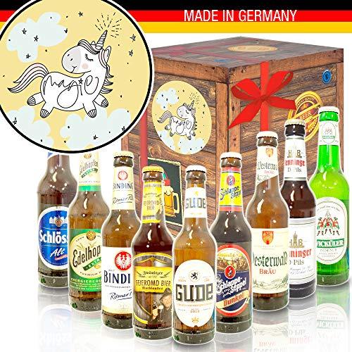 Einhorn/Deutsches Bier Geschenk/Einhorn Geschenk Frauen