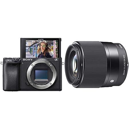 Sony Alpha 6400 E Mount Systemkamera Schwarz Sigma Kamera