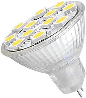 Dream Lighting 12V DC Cool White LED MR11 Bulb Spotlight Downlight for RV Boat Kitchen Cabinet Reading Rangehood Reading L...