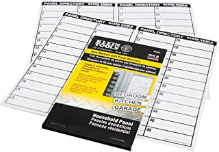 Wire Markers-Household Electric Panel w/Directory Klein Tools 56255