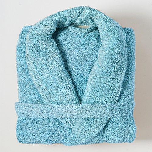 Linens Limited - Albornoz - 100% algodón Egipcio - Agua