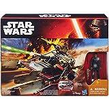 Star Wars Finn Jakku Desierto Aerodeslizador Playset De Juguete - El Despertar De La Fuerza Figura De Accin Vehculo