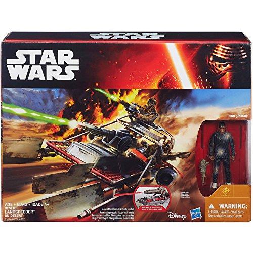 Star Wars Finn Jakku Désert Landspeeder Ensemble De Jeux - Force Awakens Figurine d'action Véhicle