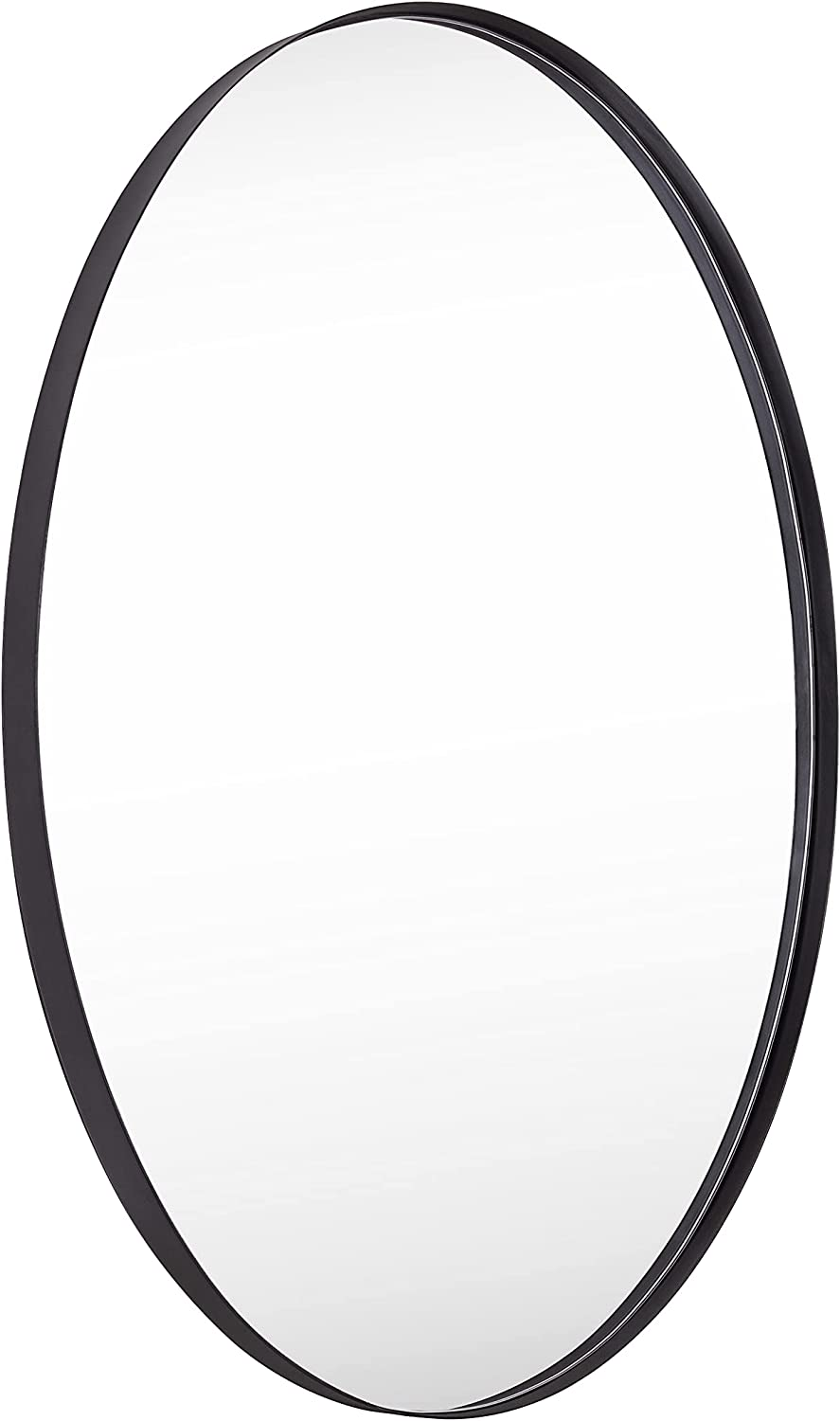 Clavie Oval All items in the store Mirror Memphis Mall for Wall Stainless Bathroo 36 Steel Inch 24 x