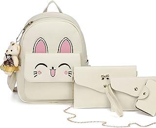مجموعة حقائب ظهر DIOMO نسائية لطيفة على شكل قطة صغيرة حقائب الكتف