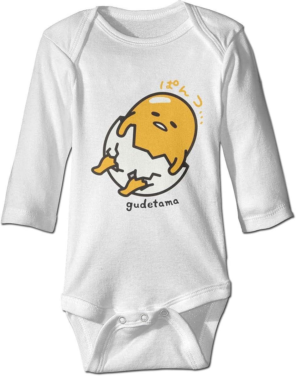 Alin-Z Gudetama Baby Jumpsuit Cotton Baby Crawl Suit Long Sleeve Bodysuit