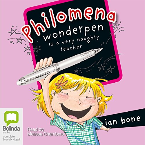 Philomena Wonderpen is a Very Naughty Teacher audiobook cover art