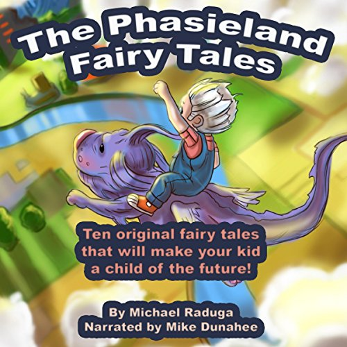 The Phasieland Fairy Tales audiobook cover art