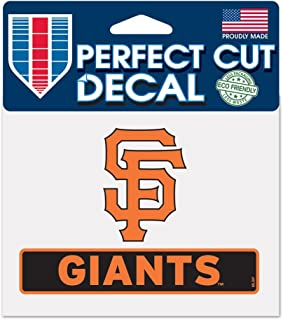 WinCraft MLB San Francisco Giants WCR18107014 Perfect Cut Color Decal, 4.5