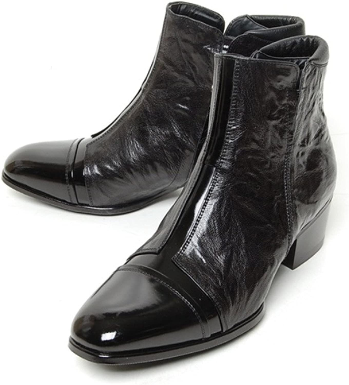 1d34e97a25c Epicsnob Mens Genuine Cow Leather Dress Formal Classic Boots shoes ...