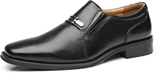 La Milano Men's Slip On Loafers Business Casual Comfortable Classic Leather D.