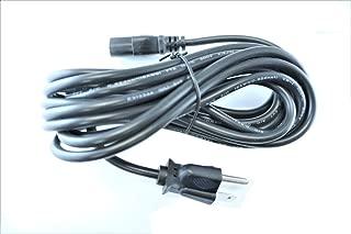 Omnihil 15 Feet AC Power Cord Compatible with Rebel Treadmill 1000 Under Desk Treadmill