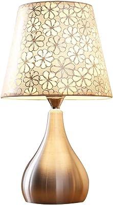 ベッドサイドランプ ベッドテーブルランプベッドサイドランプ現代ミニマリストのクリエイティブテーブルランプLEDナイトランプテーブルランプ、プッシュボタンスイッチ-3ワットストロボツェッペリンなし デスクランプ (Color : B)