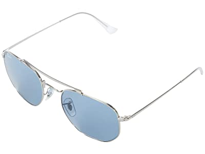 Ray-Ban 54 mm RB3648 The Marshal Round Steel Sunglasses