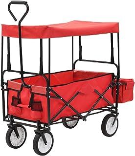 Festnight Carrito Plegable/Mano Carro/Carro para pícnic/Car