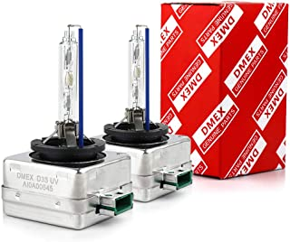 DMEX Hg-free D3S - 35W - 6000K Xenon Headlight HID Bulbs Replacement - 2 Yr Warranty - Pack of 2