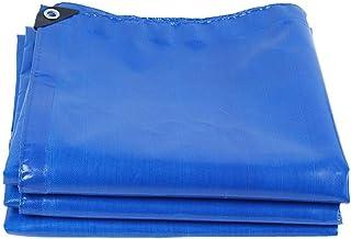 Tarp Regenhoes Tarp Sheet Truck Boot Pool Cover Doek Polyethyleen Tarps FENGMING-yb (Kleur: Blauw, Maat: 5 x 6m)