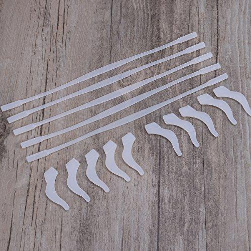 ULTNICE 5 juegos de correas y ganchos para gafas antideslizantes