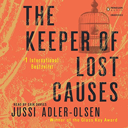 The Keeper of Lost Causes     Department Q, Book 1              Written by:                                                                                                                                 Jussi Adler-Olsen                               Narrated by:                                                                                                                                 Erik Davies                      Length: 15 hrs and 36 mins     10 ratings     Overall 4.3