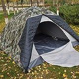 L-WSWS Campaña al aire libre para acampar Tienda de campaña de invierno al aire libre de la persona 3-4 de algodón de camuflaje tienda doble engrosamiento caliente tienda al aire libre tienda de campa
