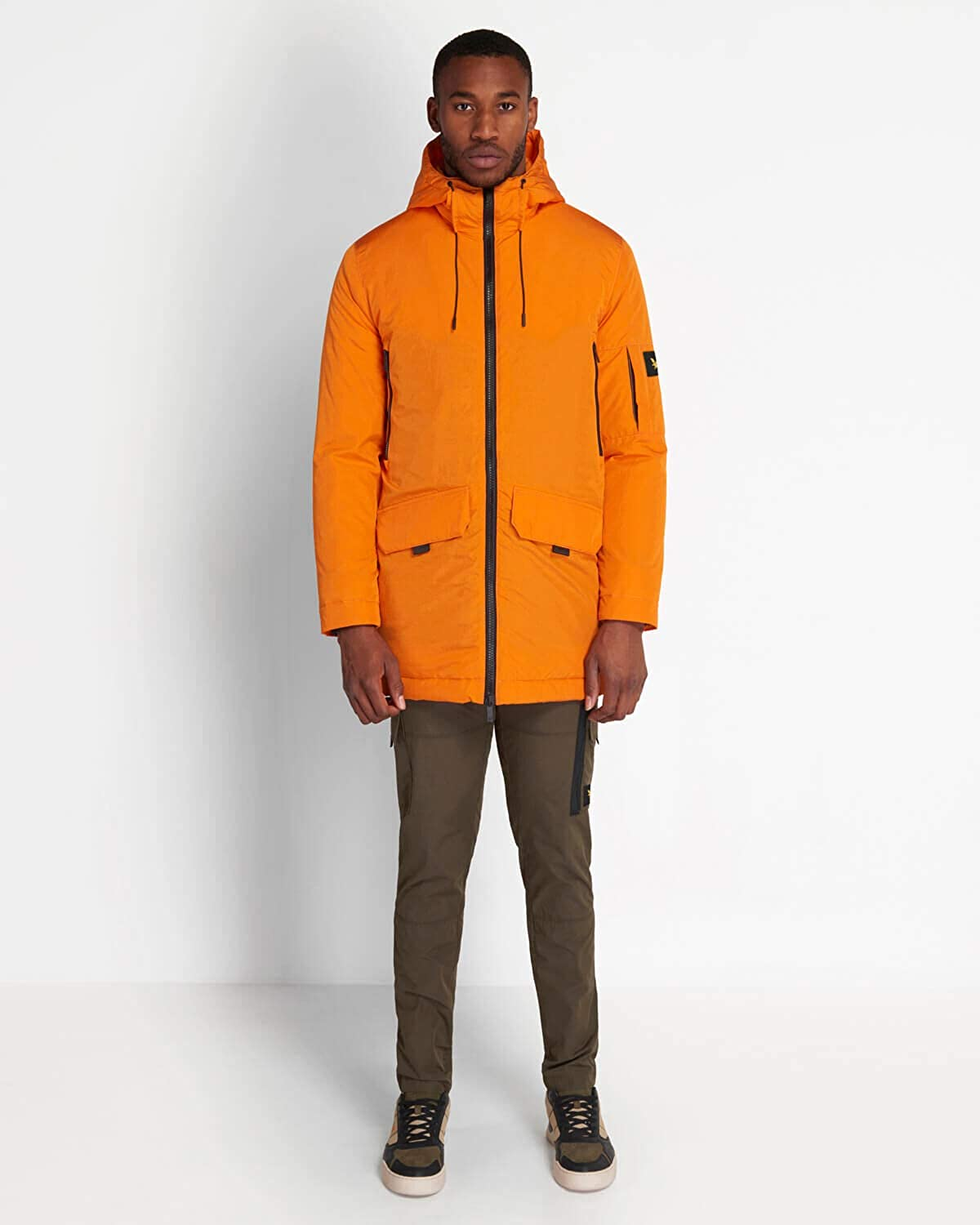Lyle and Scott Casuals Wadded Longline Parka